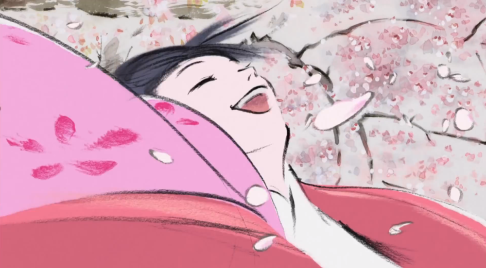 The dynamic, vivacious beauty of  Tale of the Princess Kaguya (   かぐや姫の物語    –  Kaguya-hime no Monogatari)