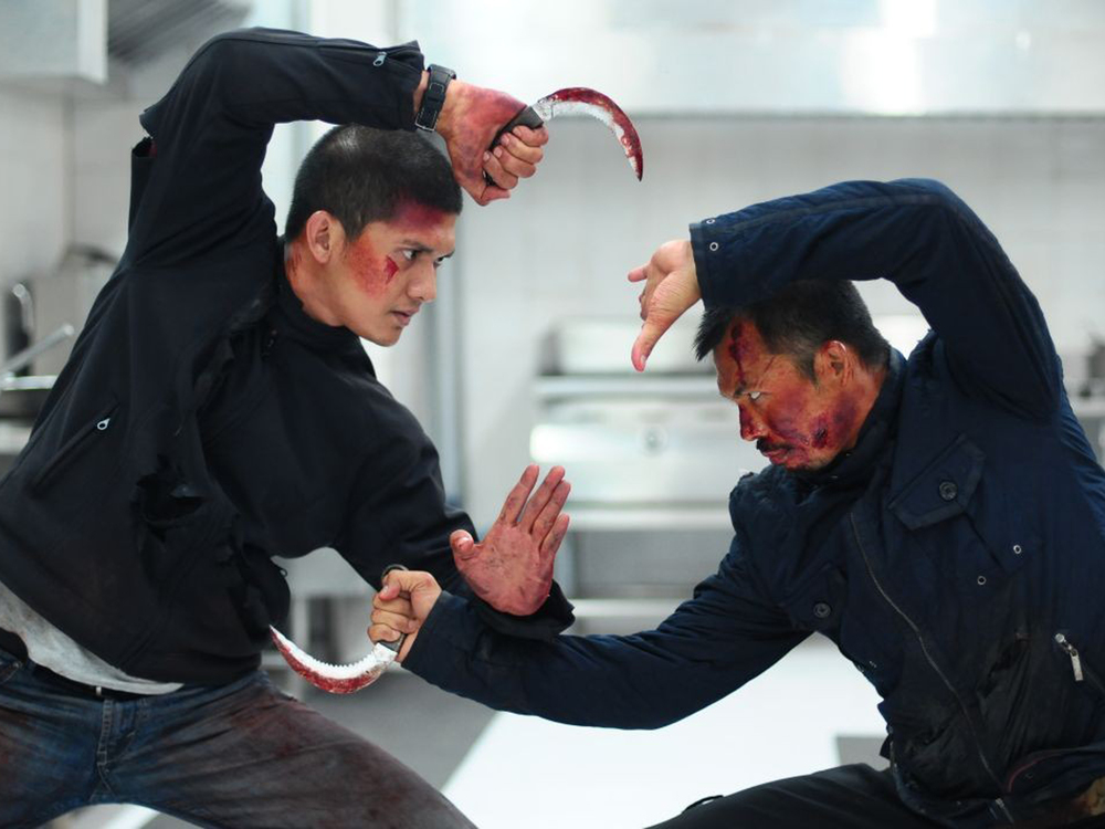 Iko Uwais vs. Cecep Arif Rahman in  The Raid 2: Berandal  (2014)