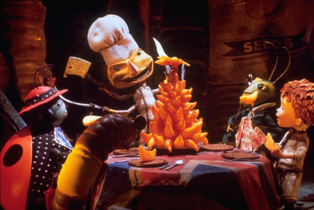 Animator Henry Selick's second feature film was the 1996 adaptation of  James & the Giant Peach .
