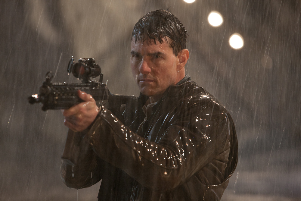 Tom Cruise perhaps doesn't learn enough from the Bourne series in the 1990s throw-back,  Jack Reacher  (2012).