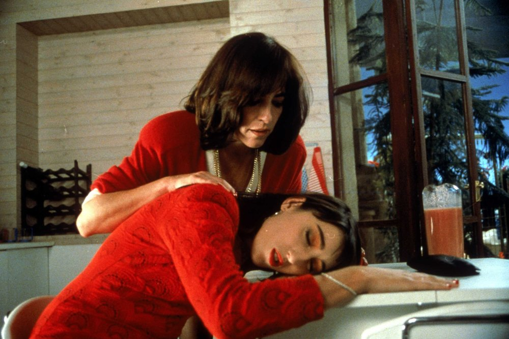 Women on the Verge of a Nervous Breakdown  ( Mujeres al Borde de un Ataque de Nervios , 1988) was the breakout success that drew mainstream attention to Almodóvar's idiosyncratic films, as well as making Carmen Maura and Rossy de Palma into illustrious stars of Spain's film and fashion worlds, respectively.