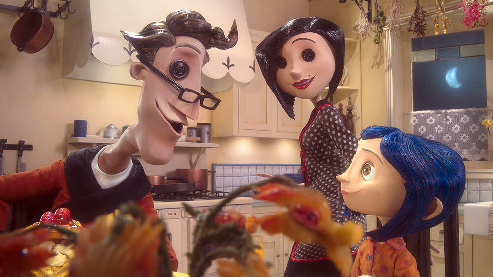 Laika's 3D-printed face animation technique began with their first feature film,  Coraline .