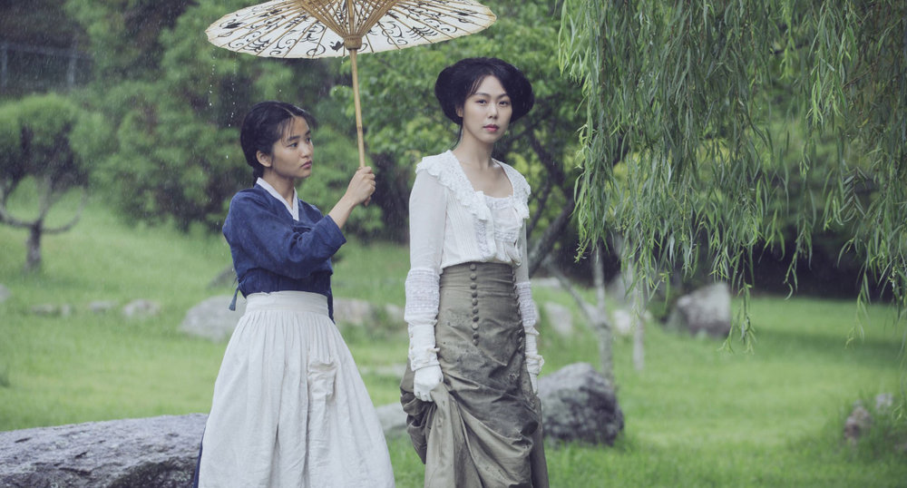 Kim Tae-ri and Kim Min-hee in  The Handmaiden  (  아가씨   2016, South Korea – dir. Park Chan-wook)