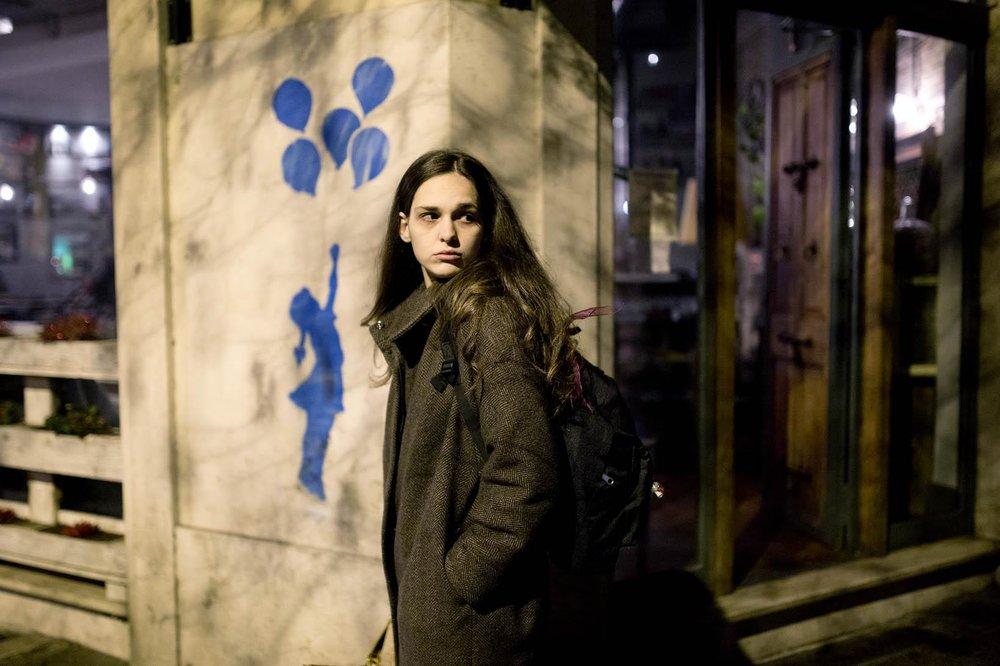 Sara Serraiocco in Worldly Girl (La Ragazza del Mondo, 2016, Italy – dir. Marco Danieli)