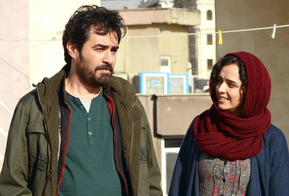 Shahab Hosseini and Taraneh Alidoosti in  The Salesman  (2016, France/Iran – dir. Asghar Farhadi)
