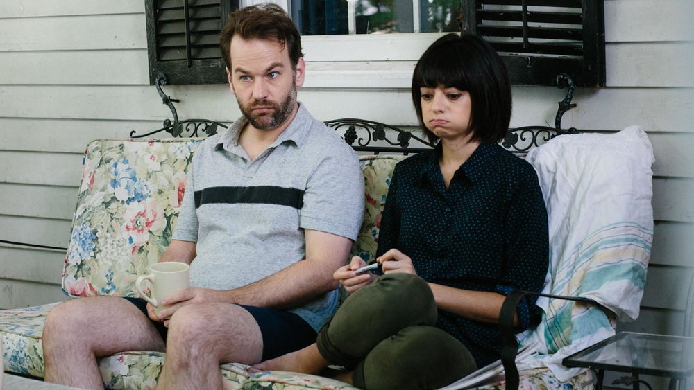 Mike Bribiglia and Kate Micucci in  Don't Think Twice  (2016, USA – dir. Mike Bribiglia)