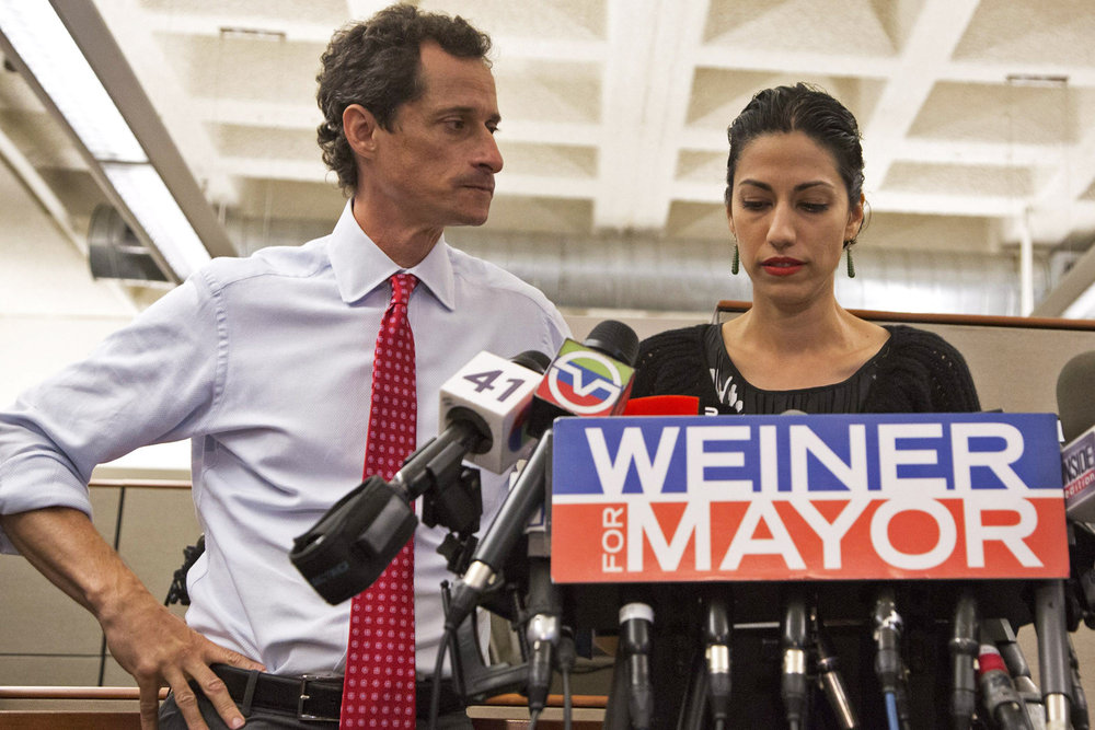 LIZ'S BEST DOCUMENTARIES OF 2016: Weiner (USA – dirs. Josh Kriegman & Elyse Steinberg)