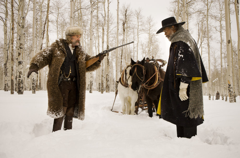 JEREMY'S BEST WESTERN AND SANDY'S BEST ENGLISH-LANGUAGE FILM OF 2016: The Hateful Eight (USA – dir. Quentin Tarantino)