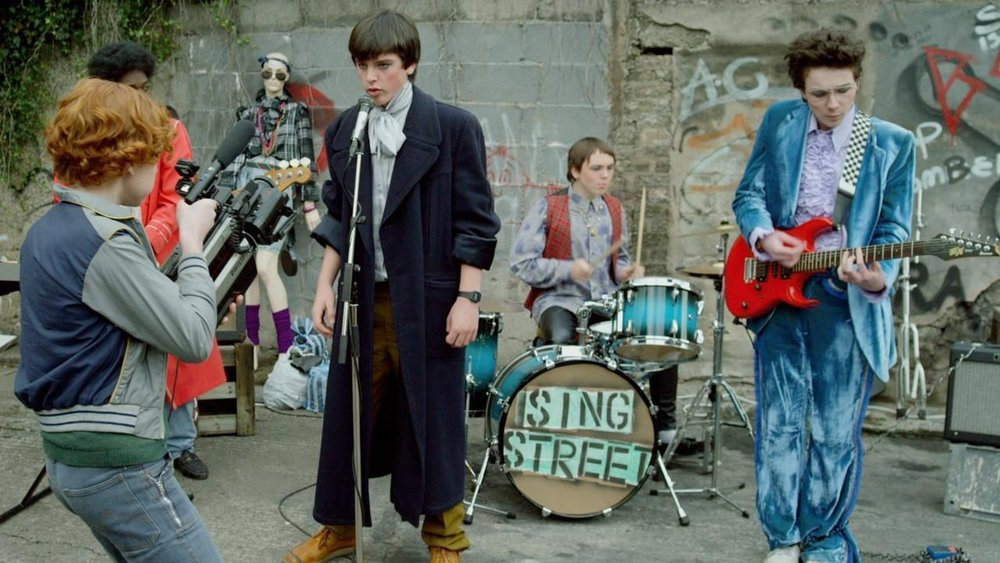LISTENER PICK – CHRIS' MOST FUN FILM OF 2016: Sing Street (Ireland/UK/USA – dir. John Carney)