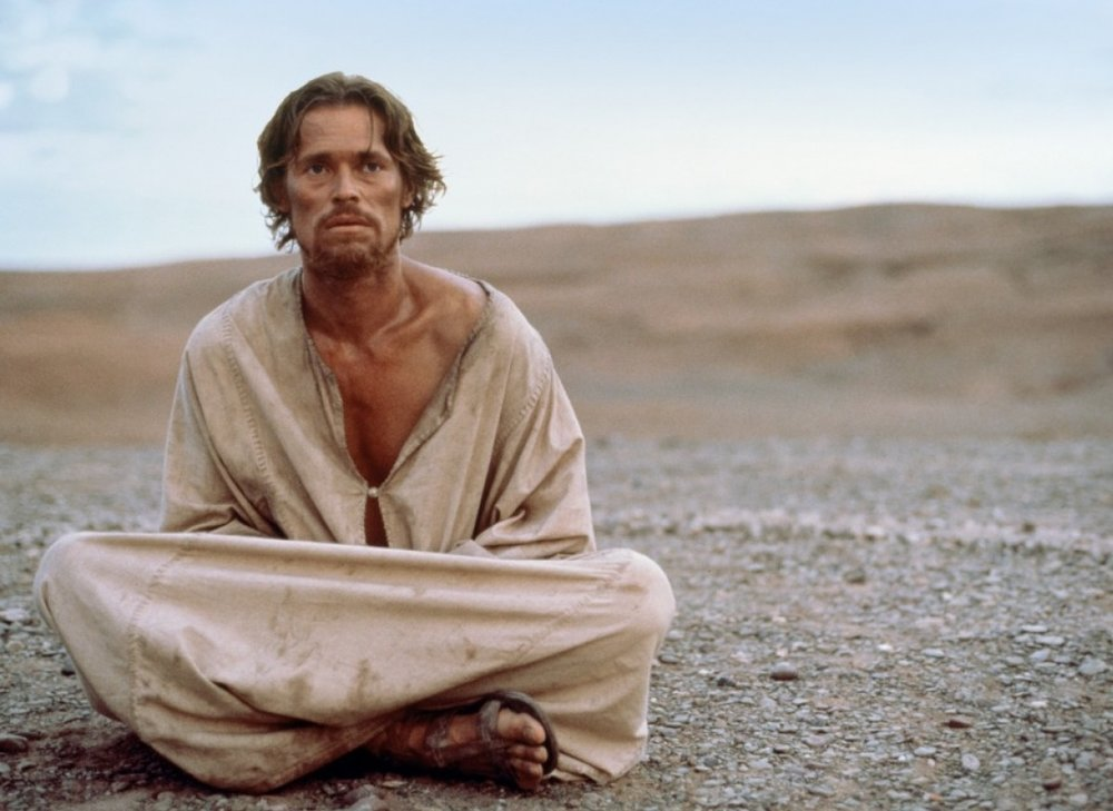 Willem Dafoe depicts a conflicted and all-too-human Jesus in The Last Temptation of Christ.