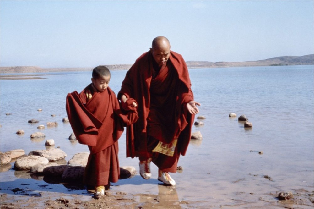 The Chinese authorities forbade Scorsese's production team from filming Kundun in Tibet, so the majority of Scorsese's biopic of the early years of the 14th Dalai Lama was shot in Morocco and on sets in the US and Canada. The necessity to recreate vast, lavishly decorated temple interiors led to a gargantuan job for production designer Dante Ferretti, a veteran designer, who Martin Scorsese has worked with on almost all of his subsequent productions.