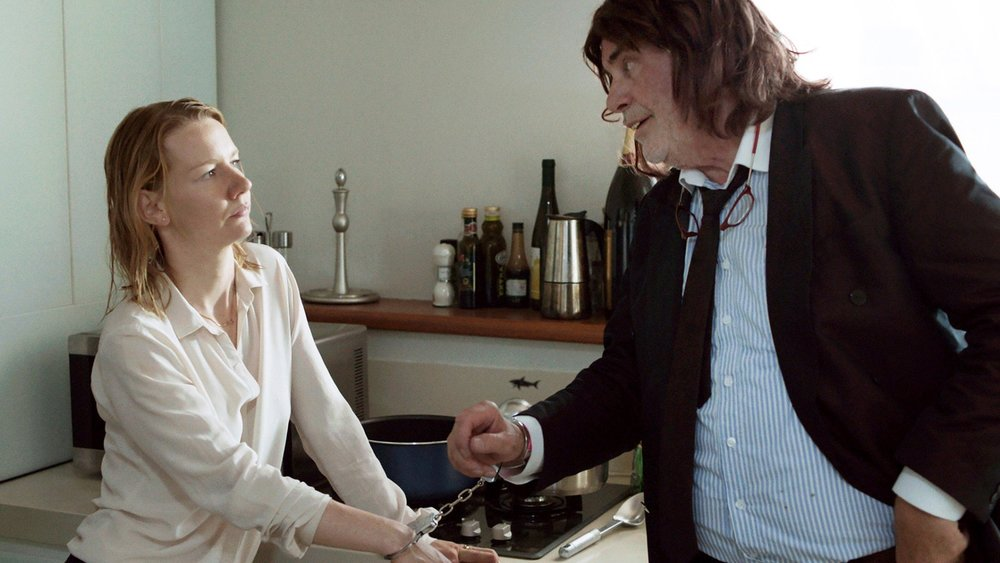Sandra Huller and Peter Simonischek in Toni Erdmann