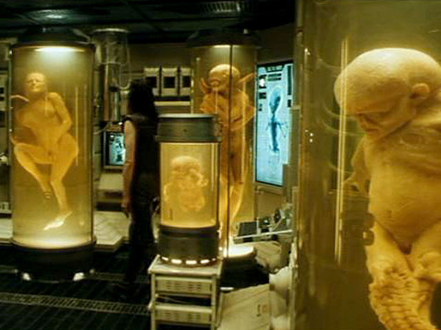 Alien Resurrection 1997 failed clones
