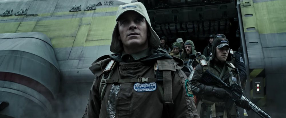 Michael Fassbender returns as an android in Alien Covenant.