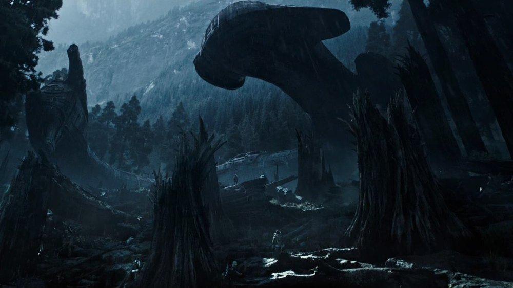Alien Covenant spaceship