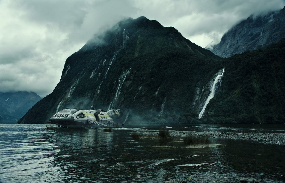 A bit of beautiful scenery from Alien Covenant.