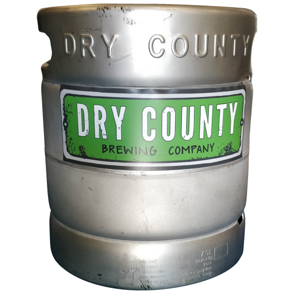 Dry County Mini Keg 2-Gallon