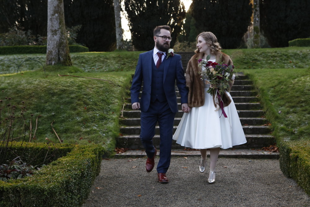 A Fairy Tale Wedding With Personal Touches For Grace And Matt Evans