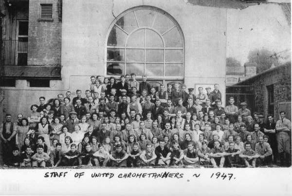 United Chrome Tanners Staff - Photograph Credit: Old Shrigley Community