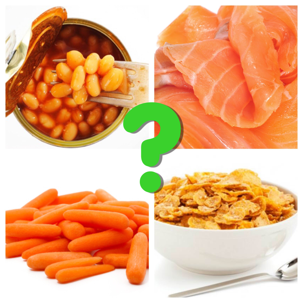 Was I destined to only eat things like baked beans out of a tin, smoked salmon, raw carrot sticks, and cornflakes?
