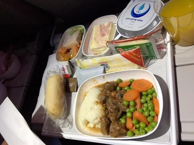 In-flight meal