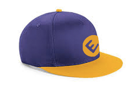 snapback cap child gold-purple.jpg