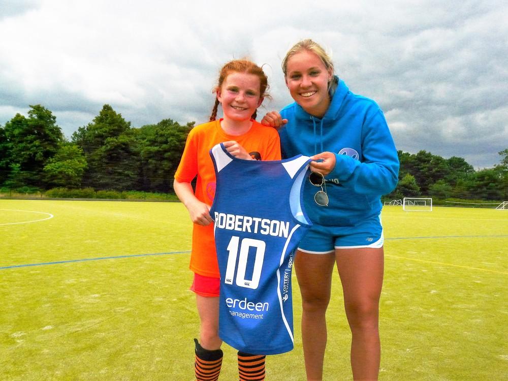 GB & Scotland international Sarah Robertson