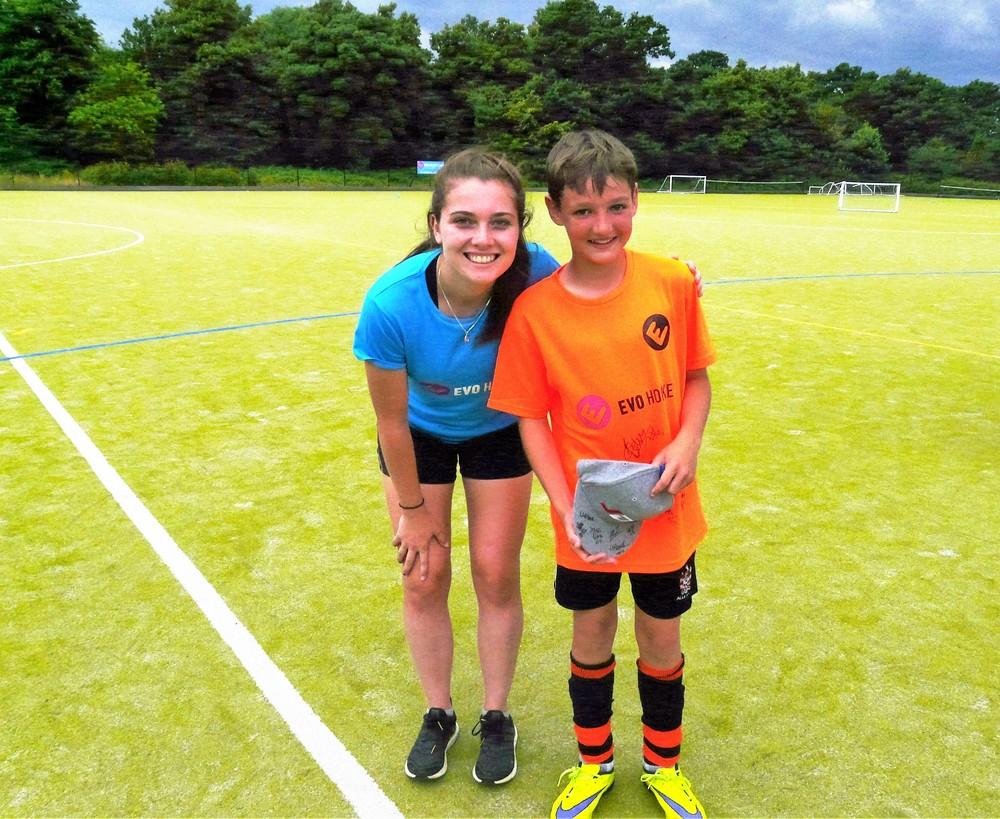 England U21 international Harriet Pittard