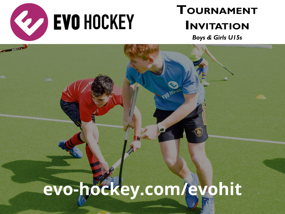 EVO Hockey International Tournament - 20th-24th July 2017