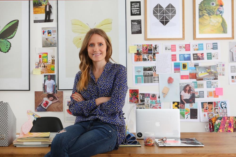 Lea Lange, Gründerin von JUNIQE