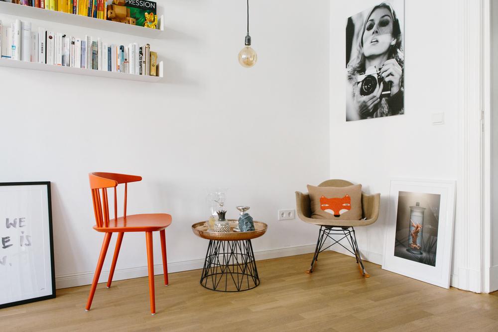 Lea Langes Interior Fave -  ihr   RAR Chair von Charles und Ray Eames