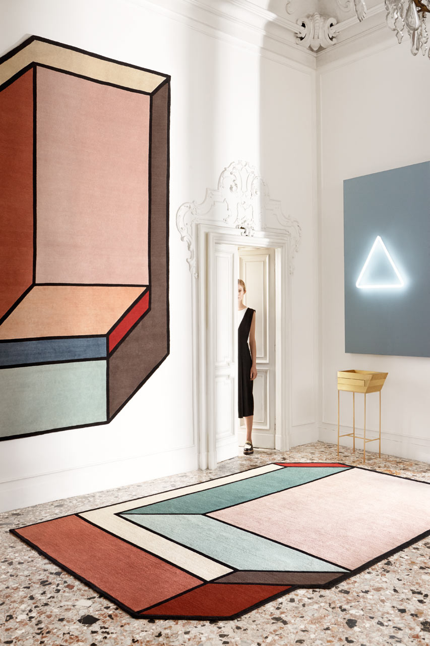 VISIONI designed by Patricia Urquiola für cc tapis
