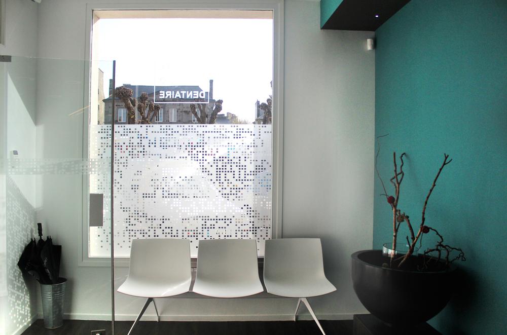 DINAN - Cabinet dentaire  - SURFACE: 75 m2 -Maître d'ouvrage: Professionnel
