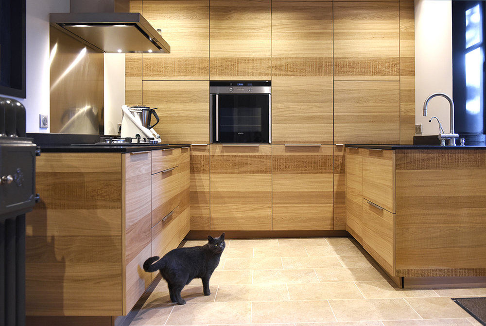 DINAN - Réaménagement d'une habitation - SURFACE : 180m2 - Maître d'ouvrage : Particulier