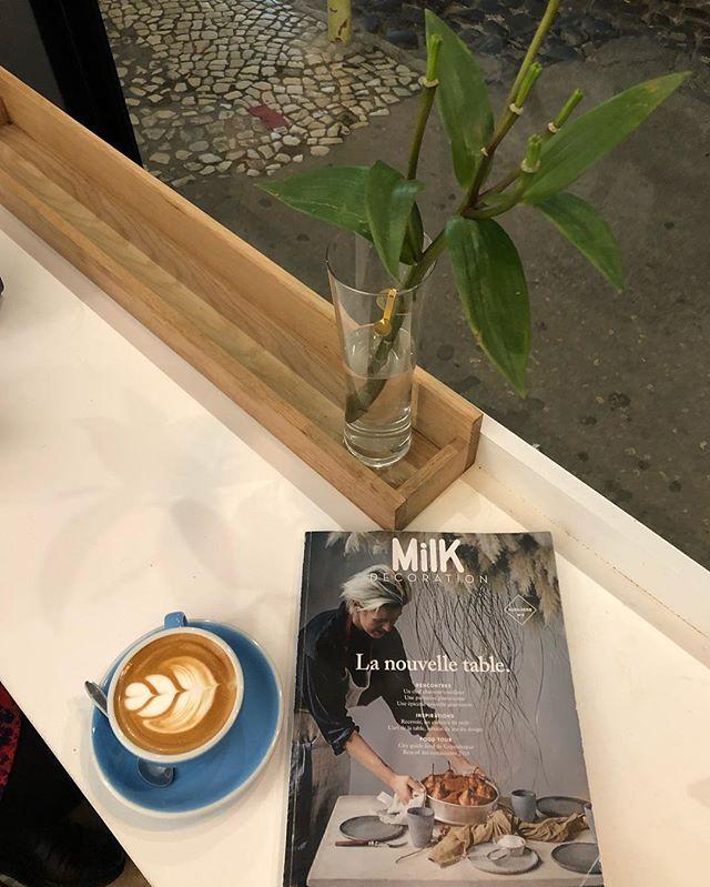 Capuccino, Milk & Friends 👌 . . . #milkmagazine #placestogo #discoveringlisbon #instalovers #instalisbon #wish #lisbon #lxfactory #portugal