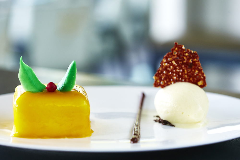 Yauatcha - Passion Fruit Mousse cake copy.jpg