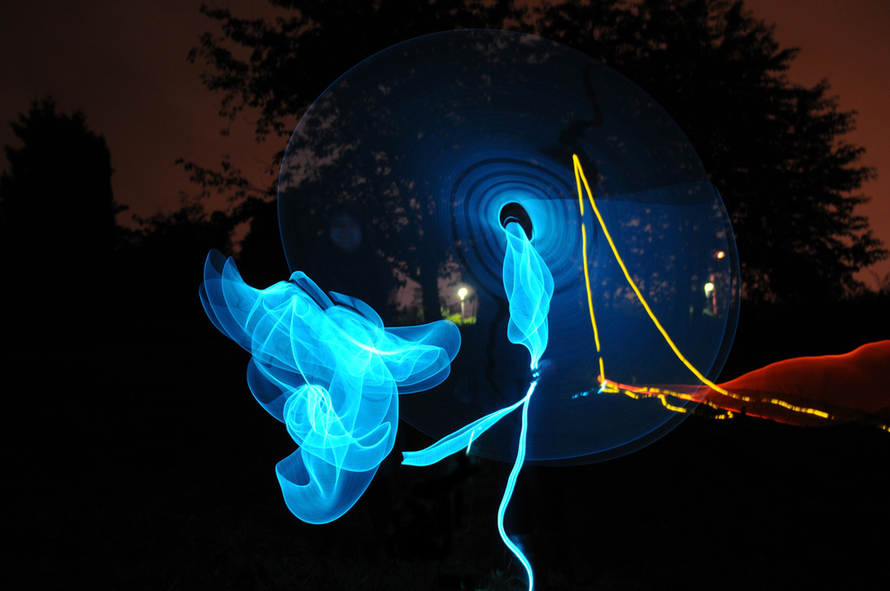Dive , Elvelangs, Oslo. Interactive light installations together with Kulturbyrået Mesen.