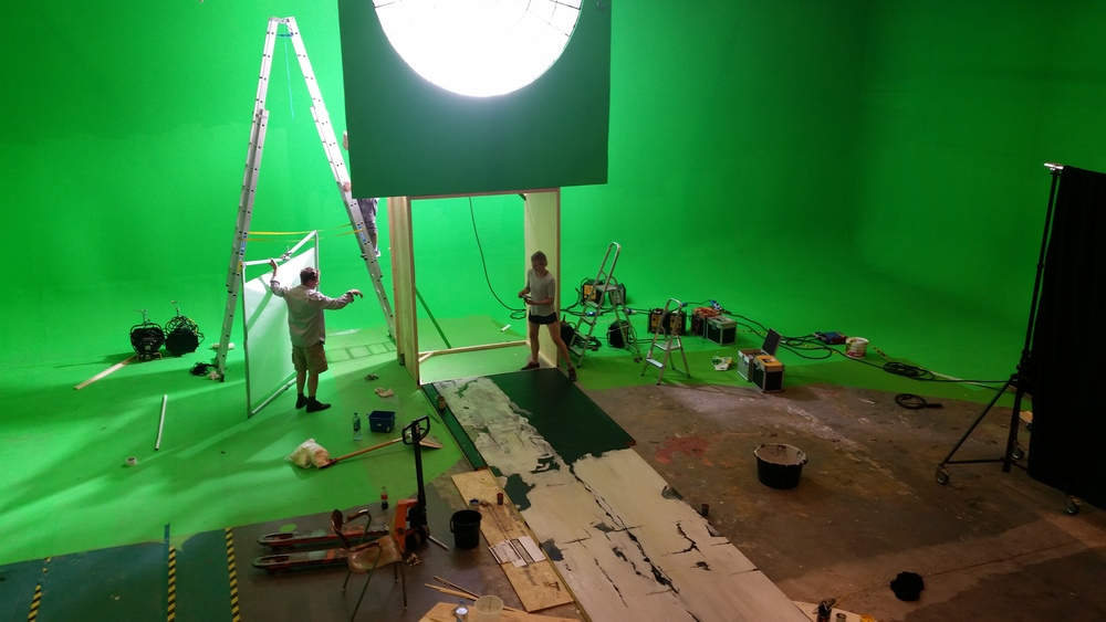 """ Åpent sett "" - teknisk showcase for  Kortfilmfestivalen/ The Norwegian Short Film Festival.  For director Jon Michael Puntervold. Together with  EQUIPPE.no , Apple,  LABO  mixed realities og  Drylab R&D  at Studio1 Bergemoen i Grimstad.06.2016"