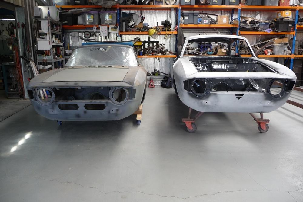 Boyd and Frye GTVs