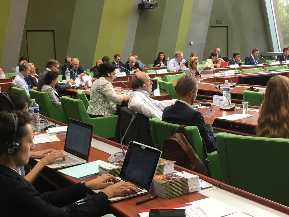 Participants in the hearing. Photo: EIN