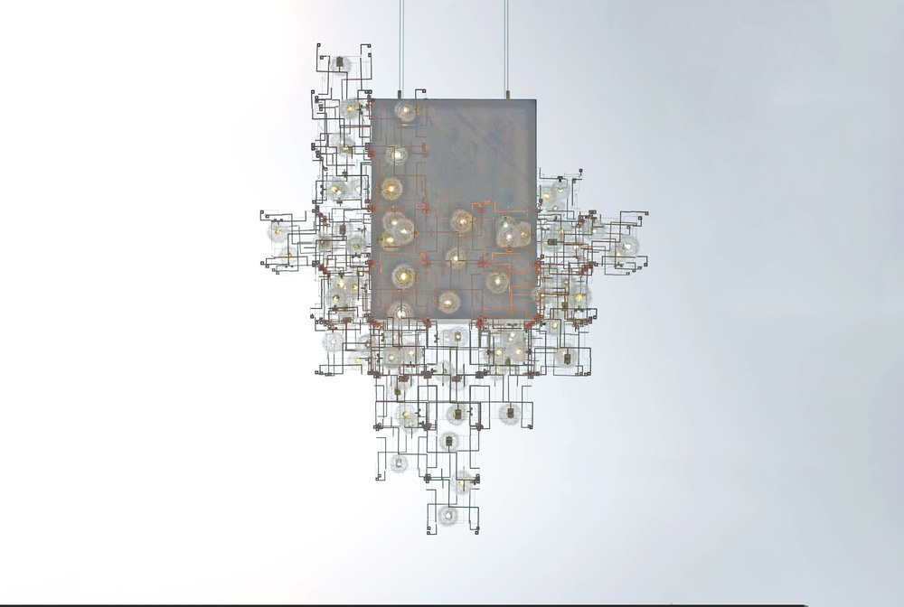Fragile Future concrete Chandelier, 2011, V & A Collection, winner of the Pavilion Art & Design London Prize