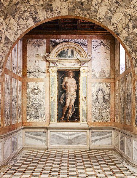 Andrea Mantegna's San Sebastian