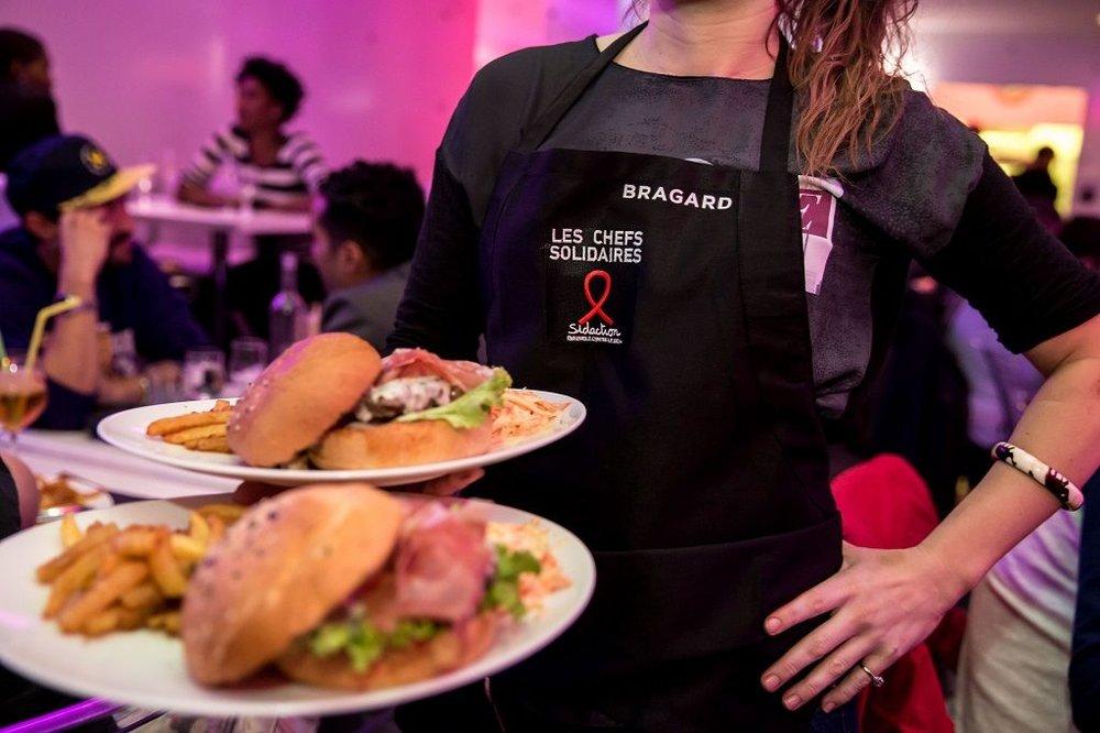 Le Tata Burger à Paris (75). © Vincent Isoré