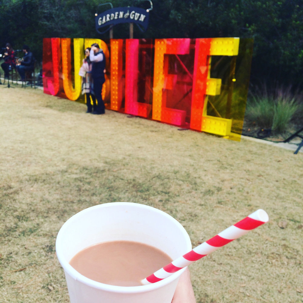 Pecan Milk Hot Chocolate - As featured at Garden & Gun's Jubilee