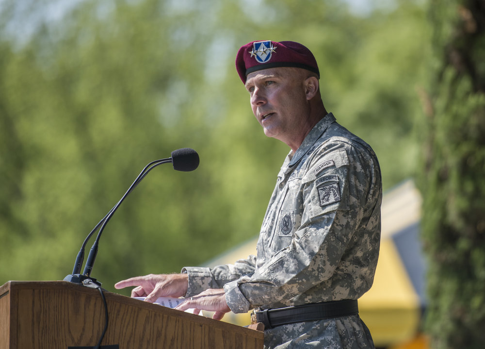 GENERAL ANDERSON'S FAREWELL