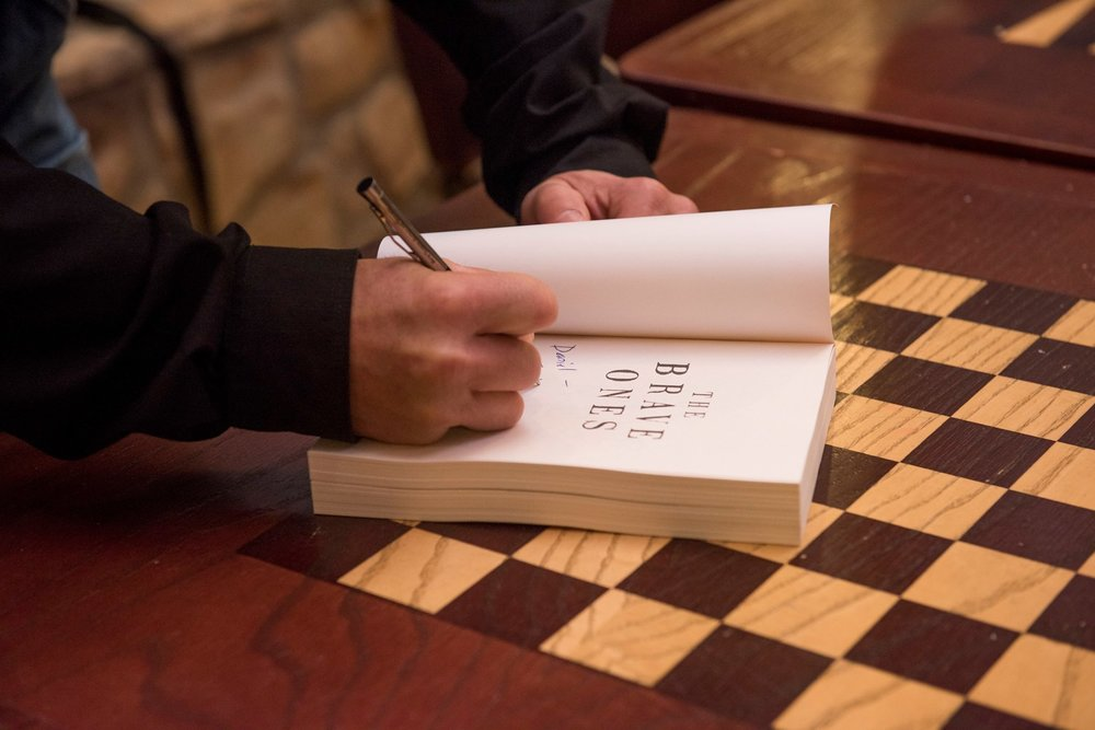 BRAVE ONES BOOK SIGNING