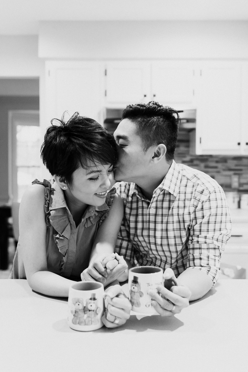 Couple's Black and White Photography