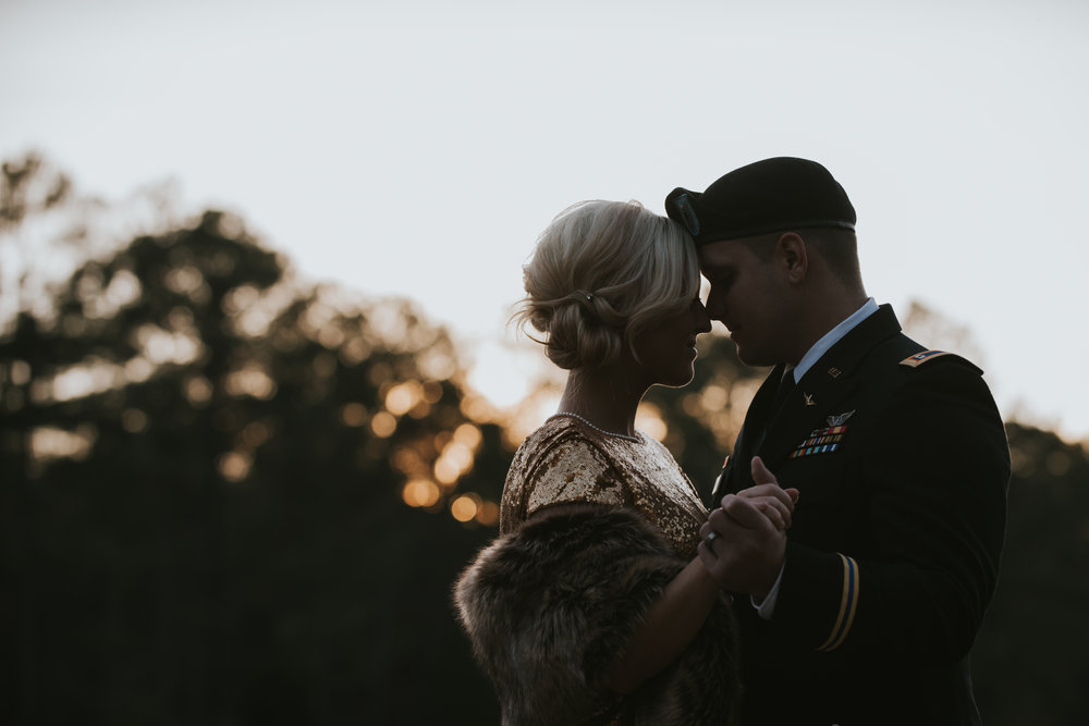 Alison & Kris, Fort Rucker, AL. Fall '17