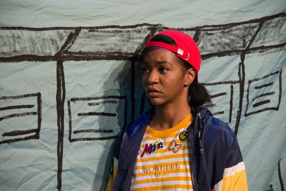 Kishia Nixon as Carly. (Photo by Johanna Austin)