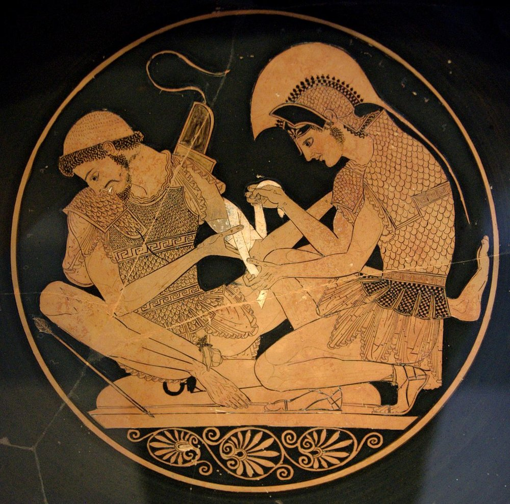Achilles and Patroclus! We meet at last… - Lucas
